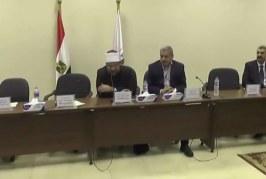 بالفيديو :<center>كلمة معالي وزير الأوقاف <br/>فى لقائه بالسادة الأئمة بمحافظة بني سويف<center/>
