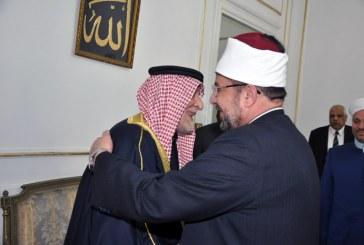 <center>رئيس ديوان الوقف السني بالعراق <br/>يشيد بتجربة الأوقاف المصرية في مواجهة الفكر المتطرف <br/>ويؤكد على أهمية التعاون المشترك في مواجهة الإرهاب <br/>ويدعو معالي وزير الأوقاف لزيارة بغداد <br/>ومد مزيد من جسور التواصل بين الأوقاف المصرية <br/>وديوان الوقف السني بالعراق <center/>