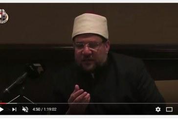 بالفيديو :<center>جلسة تعارفية لمعالي وزير الأوقاف <br/>مع وفود المؤتمر<center/>
