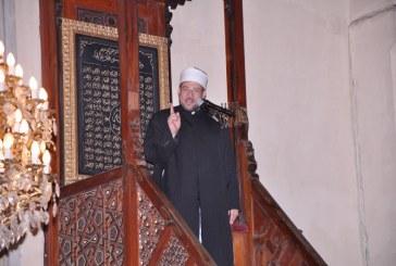 خطبة الجمعة لمعالى وزير الأوقاف  أ.د / محمد مختار جمعة   من مسجد الثورة بمصر الجديدة