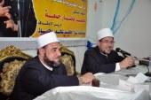 <center> وزير الأوقاف يلتقي قيادات وأئمة الإسكندرية <br/> بمركز الثقافة الإسلامية <center/> ويؤكد: