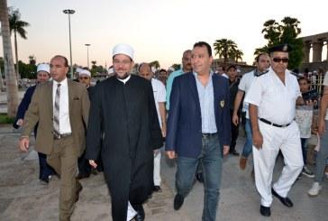 <center> جولة سياحية <br/> للأئمة المشاركين في المعسكر التدريبي بالأقصر <br/> تبدأ بزيارة مسجد أبي الحجاج الأقصري ومعبد الأقصر <center/>