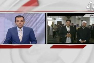 <center> لقاء مباشر مع معالي وزير الأوقاف بالتلفزيون المصري </br> بشأن توزيع لحوم الأضاحي </center>