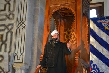 خطبة الجمعة لمعالي وزير الأوقاف   بمسجد ابو بكر الصديق   محافظة الإسماعيلية