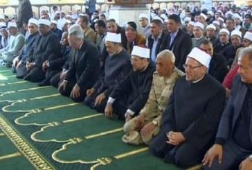 <center> وزير الأوقاف عقب زيارة مسجد الروضة بعد إعادة تأهيله في أقل من أسبوع: <center/>