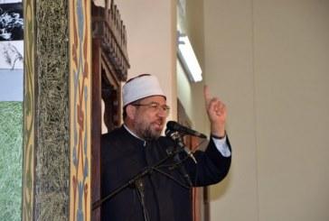 وزير الأوقاف في خطبة الجمعة:  اتقوا في المصريين ثلاثة: <center>نساءهم وأرضهم ودينهم<center/>