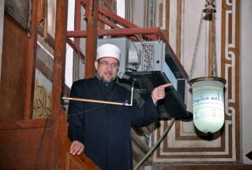 خطبة الجمعة لمعالي وزير الأوقاف   أ.د/ محمد مختار جمعة  من مسجد الحامدية الشاذلية