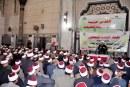 بالفيديو :  وقفة علماء الأوقاف التضامنية   مع الدولة المصرية في مواقفها الثابتة  تجاه القدس والقضية الفلسطينية