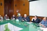 <center>وزير الأوقاف يشكل لجنة <br/>من رؤساء القطاعات <br/>لوضع الضوابط الفنية <br/>للمساجد الجامعة المتكاملة <center/>