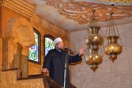 تقرير إخباري لمعالي وزير الأوقاف  يدعو المصريين يالخارج   لتقوية شوكة بلدنا  الحبيبة مصر