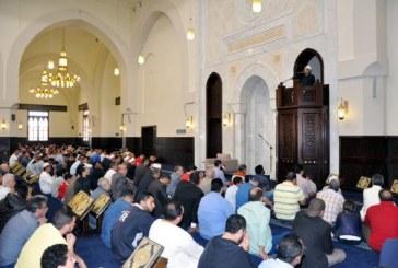 <center>وزير الأوقاف أثناء افتتاح الجامع الكبير بمدينتي: <br/> إقامة المساجد الجامعة <br/> جزء من خطتنا للقضاء على التطرف الفكري <center/>
