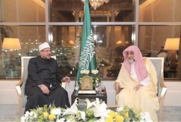 <center>وزير الأوقاف يلتقي نظيره السعودي بمكة المكرمة ويؤكد : مصر والسعودية جناحا الأمة وصمام أمانها<center/>