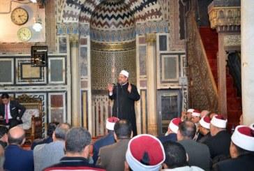 <center> وزير الأوقاف في ذكرى احتفالات الوزارة بغزوة بدر الكبرى يؤكد:<center/>