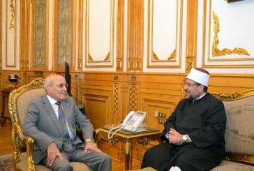 تقرير إخباري  لبحث أوجه التعاون المشترك  بين وزيرى الأوقاف والإنتاج الحربي