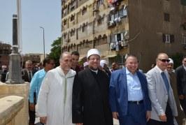 تقرير إخباري عن تفقد   معالي وزير الأوقاف وعدد من المسئولين   مساجد آل البيت بشارع الأشراف   بالقاهرة القديمة