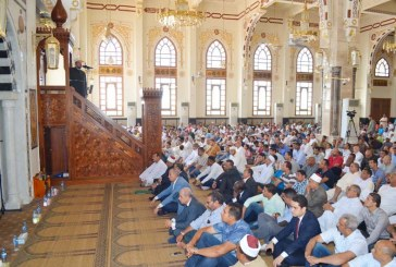 خطبة الجمعة لمعالي وزير الأوقاف  من مسجد الميناء الكبير  بمحافظة البحر الأحمر