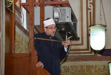 خطبة الجمعة   لمعالي وزير الأوقاف  من مسجد الحامدية الشاذلية بالجيزة