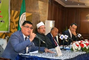 """أ.د / محمد سالم أبو عاصي يقول :   """" شهادة لله وزير الأوقاف يصنع صنعة   غير مسبوقة في العمل الدعوي """""""