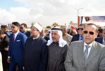 تقرير إخباري عن جولة    معالي وزير الأوقاف   بمحافظة شمال سيناء  وأداء خطبة الجمعة