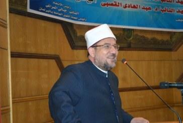 تقرير إخباري عن مناشدة   معالي وزير الأوقاف لعمال مصر   بتعظيم قيمة العمل والإنتاج
