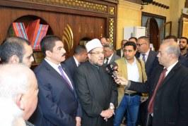 تقرير اخباري عن  افتتاح وزير الأوقاف لمسجد الخصوص الكبير بالقليوبية