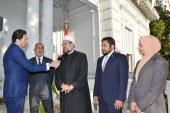 تقرير إخباري عن استعراض   معالي وزير الأوقاف التجربة المصرية   في تجديد الخطاب الديني مع وفد المالديف