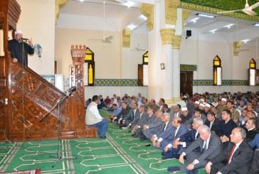 خطبة الجمعة  لمعالي وزير الأوقاف   من مسجد السلام بطابا  محافظة جنوب سيناء