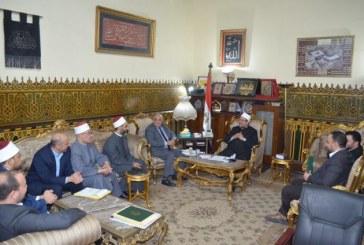 الأوقاف : <center> تعاون وثيق في نشر الفكر الوسطي <br/> وقضايا التجديد بين الأوقاف والإذاعة المصرية <center/>