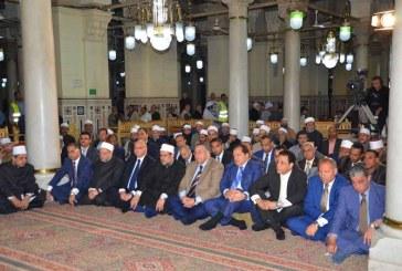 تقرير إخباري عن احتفال وزارة الأوقاف   بليلة النصف من شعبان
