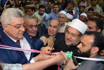 تقرير إخباري عن افتتاح   معالي وزير الاوقاف   مسجد الزعيم أحمد عرابي  محافظة الشرقية