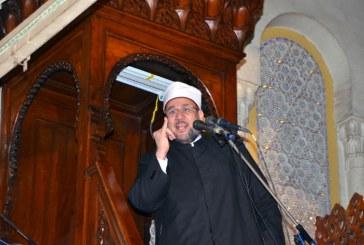 خطبة الجمعة لمعالي وزير الأوقاف  من مسجد السيدة زينب  (رضي الله عنها)   محافظة القاهرة