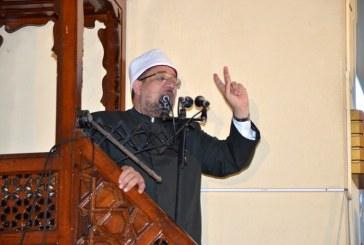 خطبة الجمعة لمعالي وزير الأوقاف  بمسجد ناصر – محافظة القليوبية