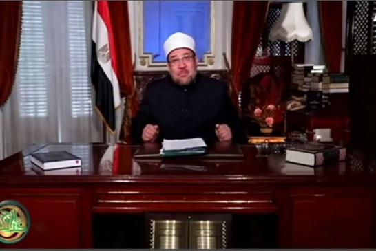 """وزير الأوقاف يتحدث عن : """" ( 2 ) في رحاب السنة النبوية المشرفة """"  ببرنامج حديث الروح"""