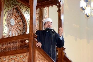 خطبة الجمعة لمعالي وزير الأوقاف   من مسجد الفرقان  محافظة الدقهلية