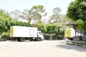 بالفيديو والصور: انطلاق سيارات توزيع لحوم الأضاحي إلى محافظات: ( الشرقية – الإسكندرية – الغربية – الفيوم- بورسعيد )